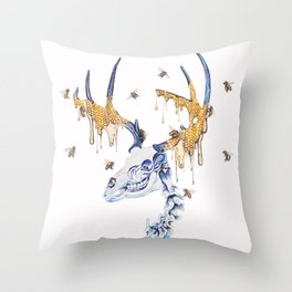 borne from your oblivion you are exalted Throw Pillow