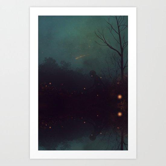 Whisper Art Print