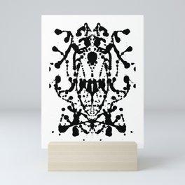 Ink Baroque Mini Art Print