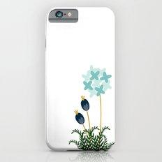 Blue Flower iPhone 6 Slim Case