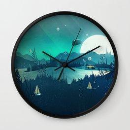 Beneath Barafundle Wall Clock