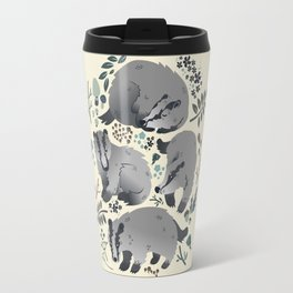 Badgers of the forest Travel Mug