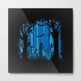 Toxic Jungle Metal Print