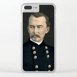 General Philip Sheridan - Color Portrait Clear iPhone Case