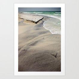 Sediment Art Print