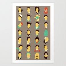 Jims Art Print