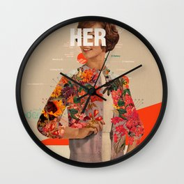 Her Wall Clock