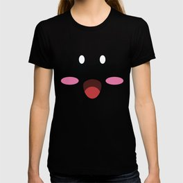 Kirby face illustration T-shirt