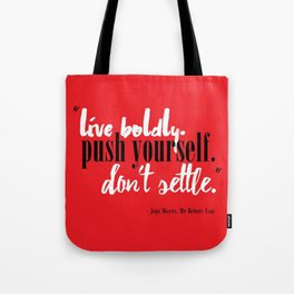 Me Before You by Jojo Moyes Quote Tote Bag
