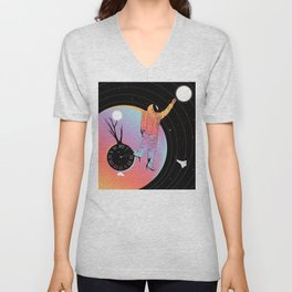 Out of Time (The Current State of Existence) Unisex V-Neck