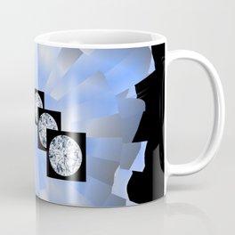 Spacy Diamonds Coffee Mug
