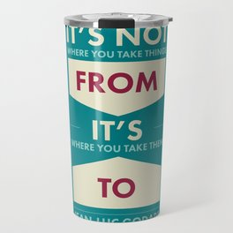 Godard (The quotes series) Travel Mug