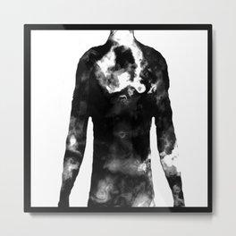 Adam's X-RAY Metal Print