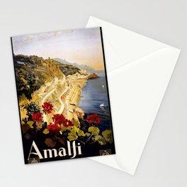 Vintage poster - Amalfi Stationery Cards