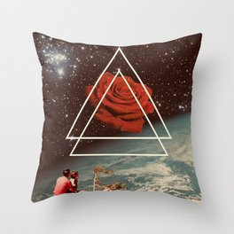 Stay A Little Longer Throw Pillow