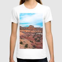 Orange/Red New Mexico Landscape T-shirt