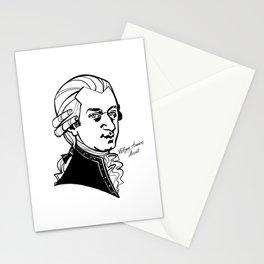 Wolfgang Amadeus Mozart Stationery Cards
