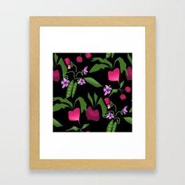 Vegetable garden Framed Art Print