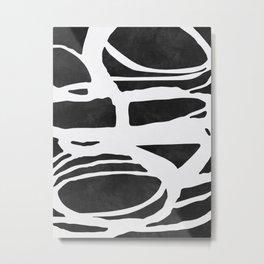 Black Expressionism XX Metal Print