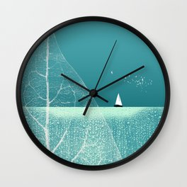 Ocean Wonderland II Wall Clock