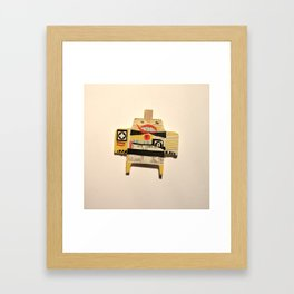 Pirate Cigi Pal Framed Art Print