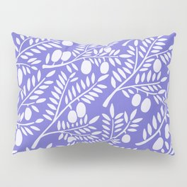 Olive Branches – Periwinkle Pillow Sham