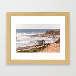 Summer in Malibu Framed Art Print