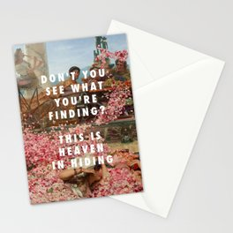 Lawrence Alma-Tadema, The Roses of Heliogabalus (1888) / Halsey, Heaven in Hiding (2017) Stationery Cards