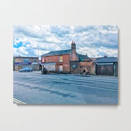 Street Photography, Norwich, U.K Metal Print