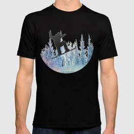 The Snowboarder: Air T-shirt