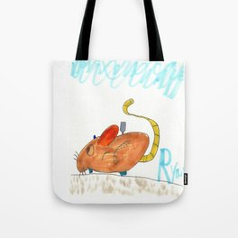 Wind-Up Mouse Tote Bag