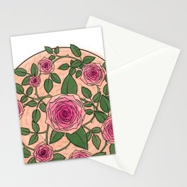 You Are a Rose in Orange Stationery Cards