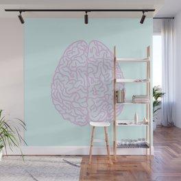 Pastel Brain Wall Mural