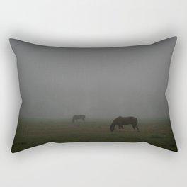 Not a Horse, but a Ghost Rectangular Pillow