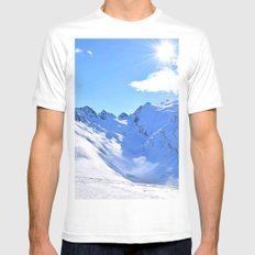 Mountain Mens Fitted Tee MEDIUM White