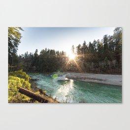 Bull Creek Flats Canvas Print