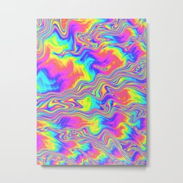 Rainbow Bliss Metal Print