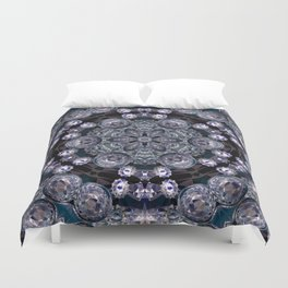 crystal star 1 Duvet Cover