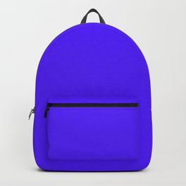 Han Purple - solid color Backpack