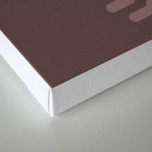 Letter Q // Animal Alphabet // Quail Monogram Canvas Print