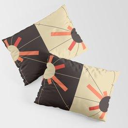 paper sun || straw Pillow Sham