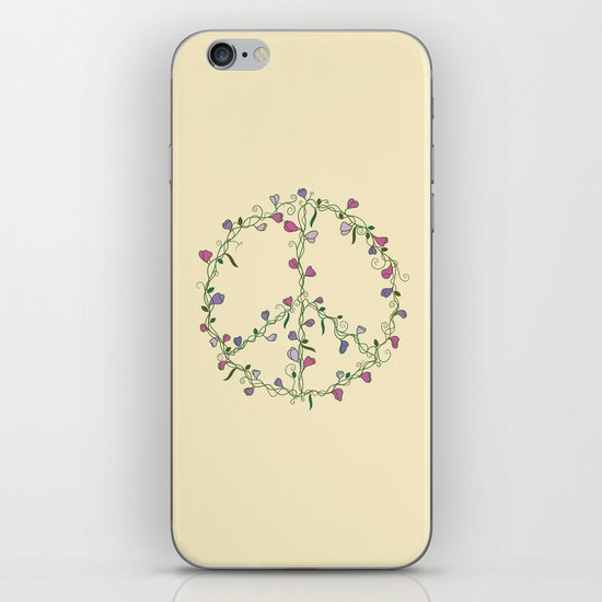 Sweet Peace iPhone Skin
