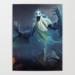 Haunting Nocturne League Of legends Poster