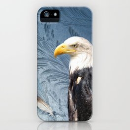 """Eagle in Alaskan Ice"" iPhone Case"