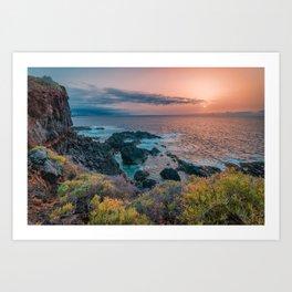 Tenerife, Spain #society6 #decor #buyart Art Print