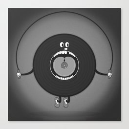 old skipping record Canvas Print