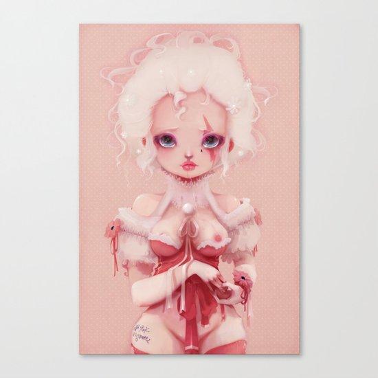 No pink anymore... Canvas Print