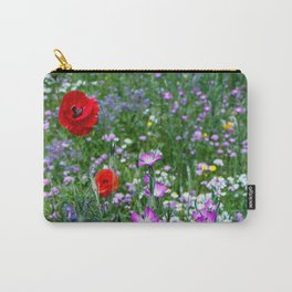 Wild Flower Meadow Carry-All Pouch