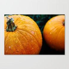 Pumpkins and Tears Canvas Print