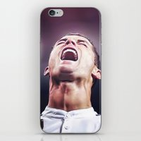 ronaldo iPhone & iPod Skins featuring Cristiano Ronaldo by Cr7izbest